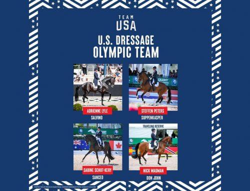 US Equestrian Announces U.S. Para Dressage Team for Paralympic Games Tokyo 2020